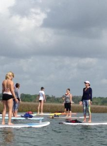 Paddle On Yoga Classes - Williamsburg VA