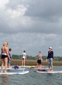 Paddle On Yoga Classes - Williamsburg VA