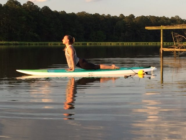 Yoga on a Paddle Board - Williamsburg Virginia